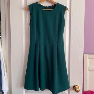 Dynamite Sleeveless Green Dress